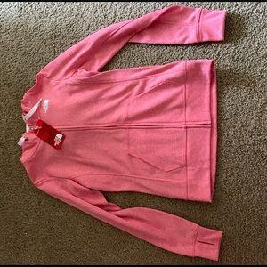 Pink NorthFace Zip Up
